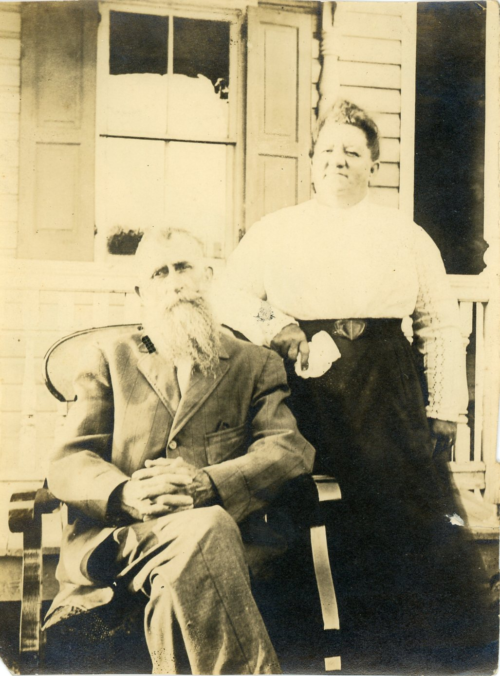 Henry Hamilton Wiggins and Kathryn Louisa Aukamp Wiggins