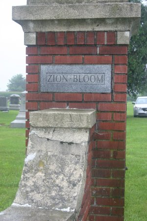 Zion Bloom Cemetery, Hancock Co, Ohio